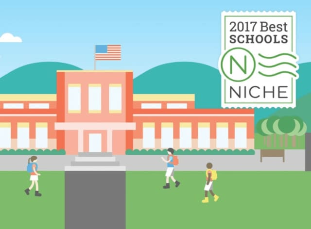 Twenty-six Westchester County school districts are among the 100 best in New York, according to the education website Niche.