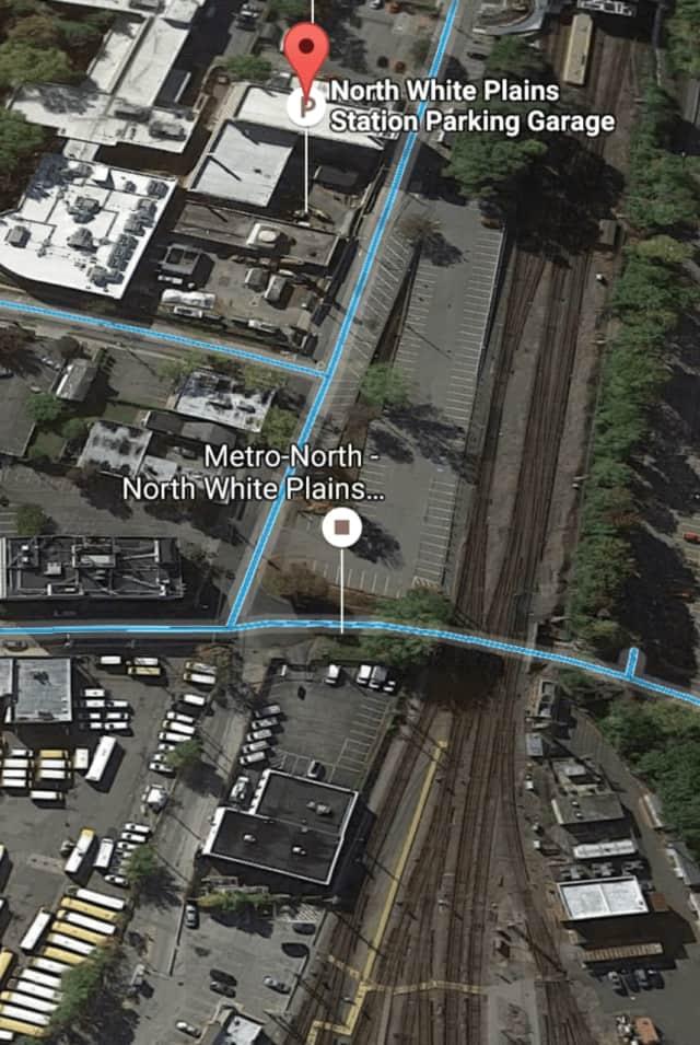 Metro-North North White Plains station.