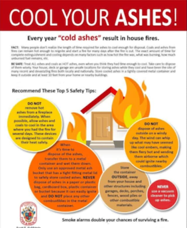 The Bethel Fire Marshal is warning of safely disposing of fireplace ashes after three recent fires.