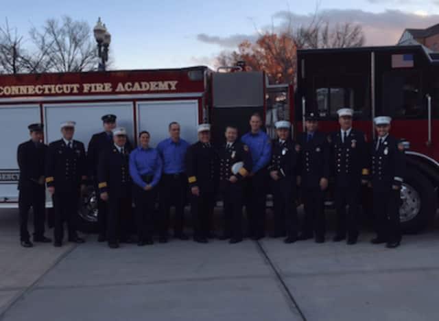 Three Westport firefighters graduate from Fire Academy.
