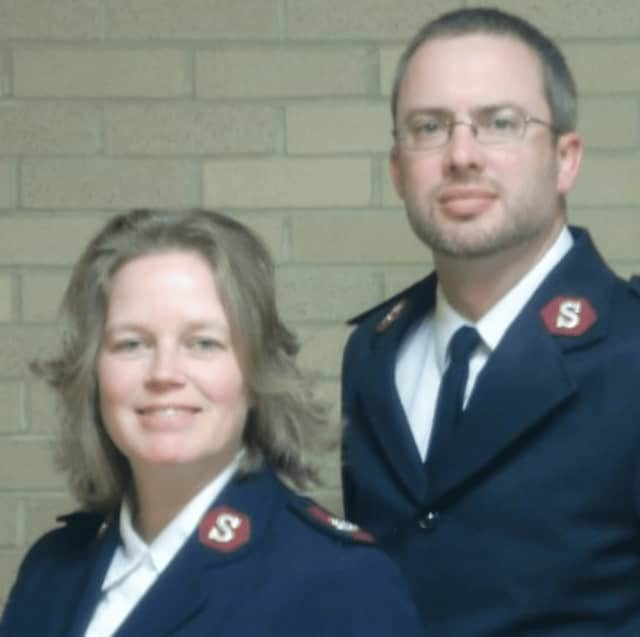Marcus Jugenheimer, right, and his wife, Joy,  are the Rockland County coordinators for The Salvation Army of Rockland County.