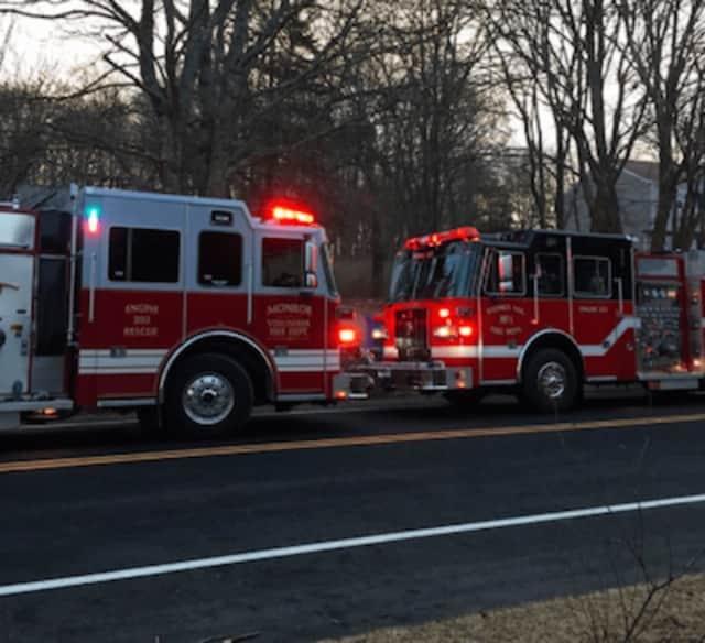 Monroe Volunteer Fire Department.