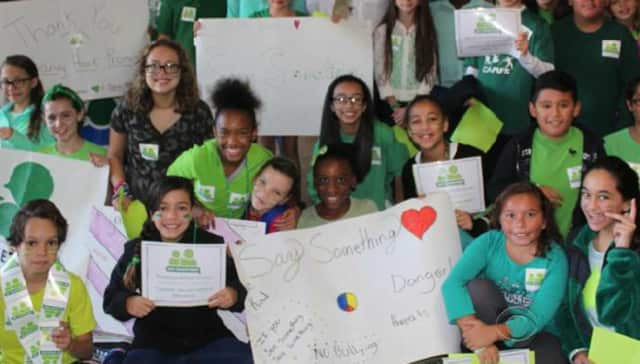 Students from Broadview Middle School in Danbury were featured in a CBS News story for their participation in a violence awareness program started by Sandy Hook Promise.