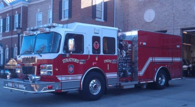 2 firefighters from Stratford were injured fighting a house blaze Wednesday night.