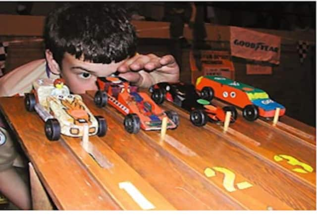 Kids and adults will find trains, rockets, drones, planes and items such as pinewood derby kits for the popular Boy Scout race at Heritage Hobbies in Wilton.