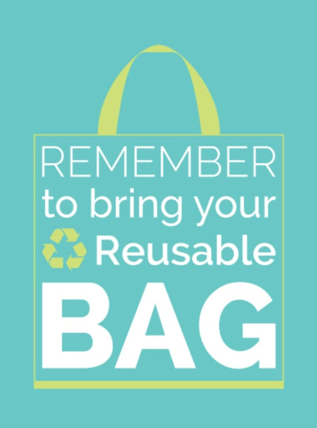The town of New Castle's Reusable Bag Law starts on Jan. 1, 2017.