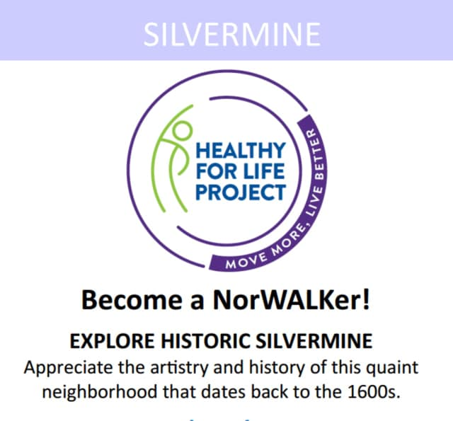 The Healthy For Life Project promotes walking in the city of Norwalk, including the Silvermine neighborhood.