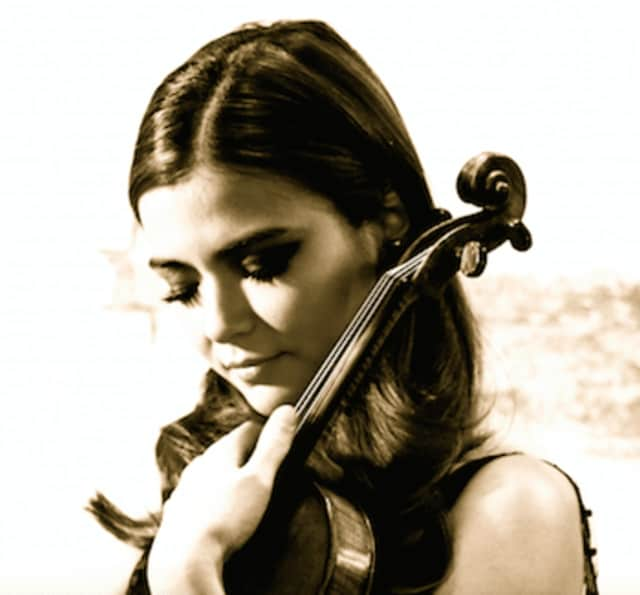 Karen Gomyo will be performing Beethoven's violin concerto at the Stamford Symphony in February.