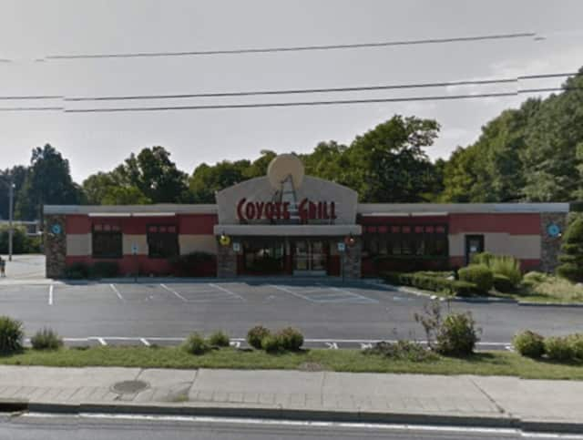 The Coyote Grill in Poughkeepsie is closed and the property is being offered for sale or lease.