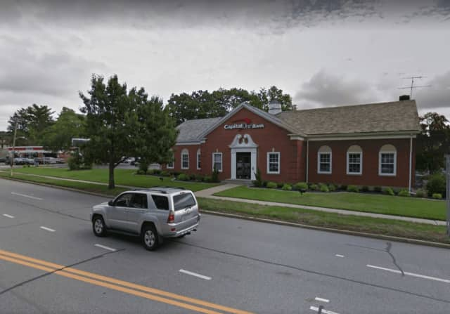 Capitol One Bank in White Plains was robbed on Thursday afternoon.