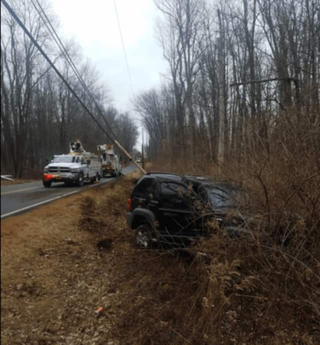 At about 12:50 p.m. Friday, Red Hook Police responded to a 911 call reporting a single-vehicle auto accident on East Kerley Corners Road in the Town of Red Hook.