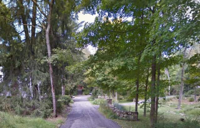 North Lane in Somers is located in a Katonah mailing address near Muscoot Farm.
