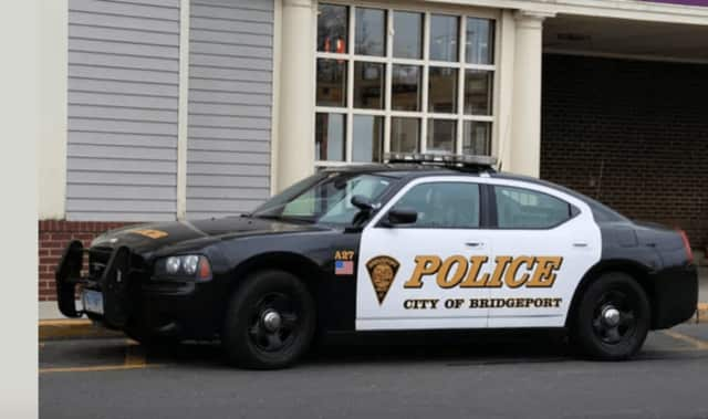 A Bridgeport Police K9 Officer and her dog were injured during a crash.