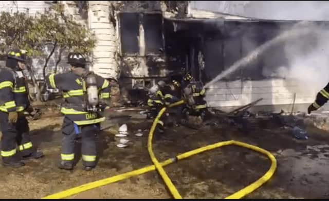 Pearl River firefighters are working a large house fire at 58 N. William St.