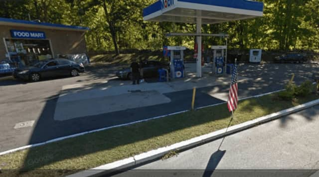 The Mobil Gas Station located at 2225 Crompond Road (Route 202).