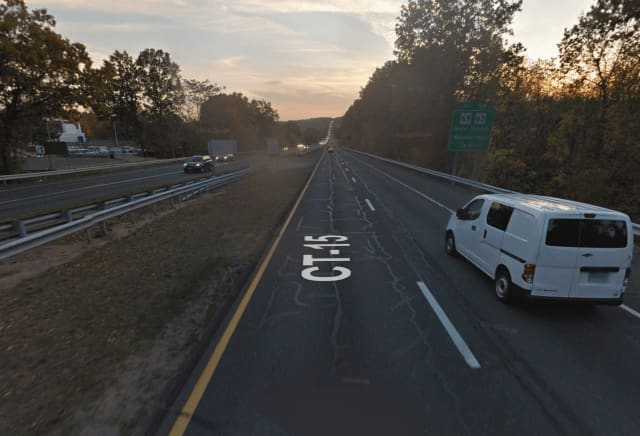 A motorcyclist from Bridgeport was injured on Route 15 in Connecticut.