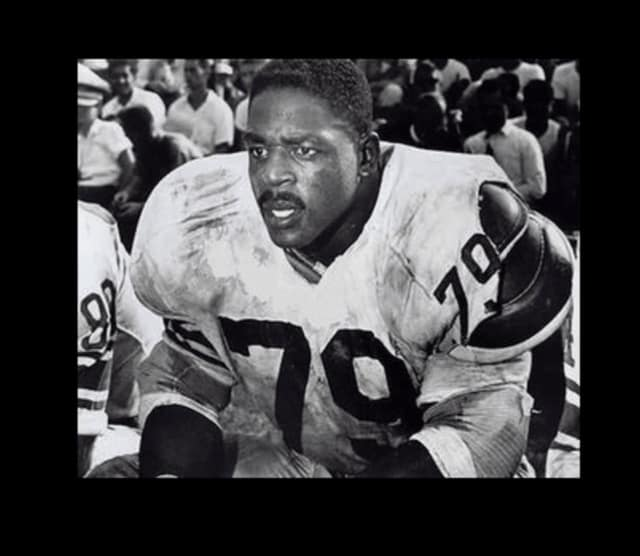 Rosey Brown of Teaneck starred on the New York Giants and helped the team earn its championship title in 1956.