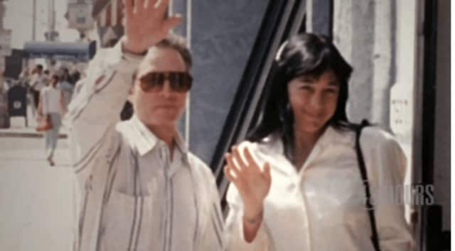 "A scene from a video provided by CBS of Saturday night's ""48 Hours"" episode spotlighting former Westchester resident Robert Durst and the cold-case murder of Susan Berman."