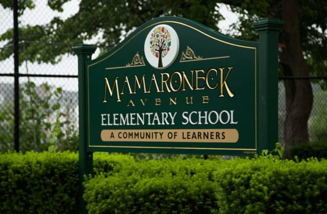 The Mamaroneck Avenue Elementary School was forced to close its doors early on Monday due to a power outage.