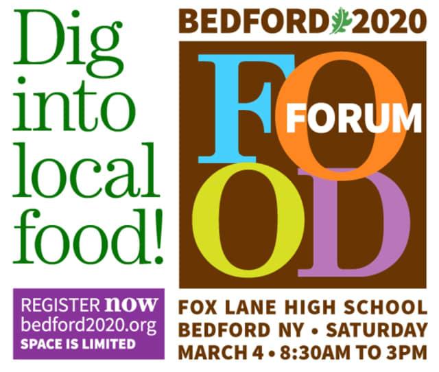 Bedford 2020 is hosting a Food Forum.