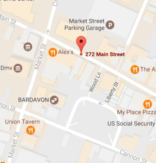 A man, who was hit by a car on Main Street in Poughkeepsie, received minor injuries.