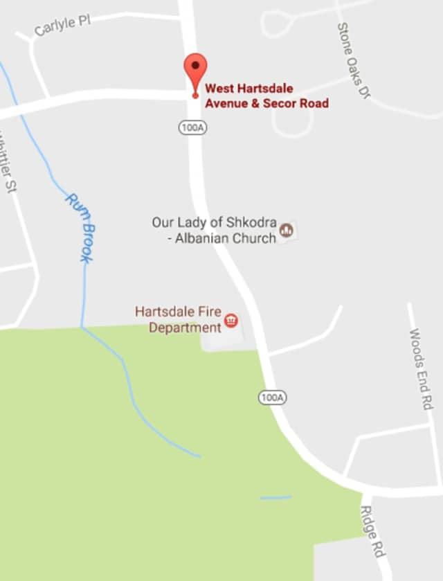 West Hartsdale Avenue has reopened following a traffic crash.