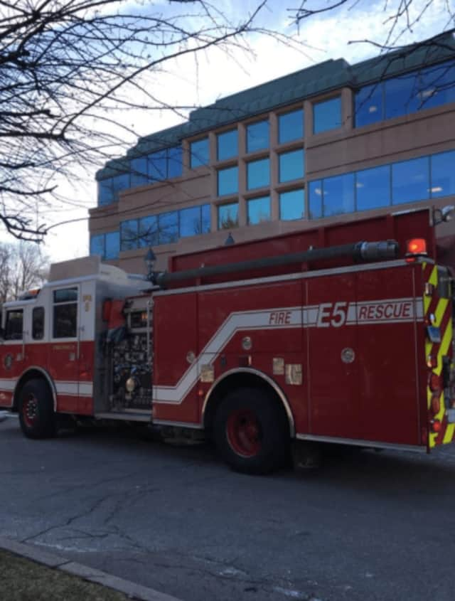 Greenwich Fire Department responded to a call at 53 Forest Ave. on Tuesday, but an employee at the building used an extinguisher to snuff out a fire in a wall heating unit.