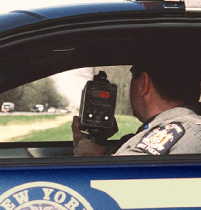 New York State Police conducted a speed enforcement detail in Yonkers on Wednesday.