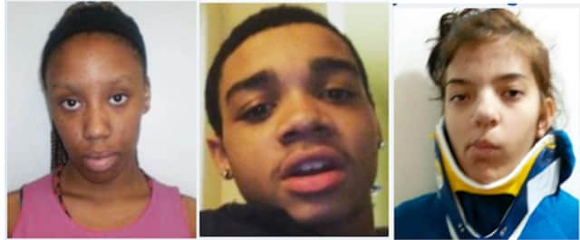Samiyah Spencer, Tony Strayhorn, and Jenica Singh are all missing from the Pleasantville area.