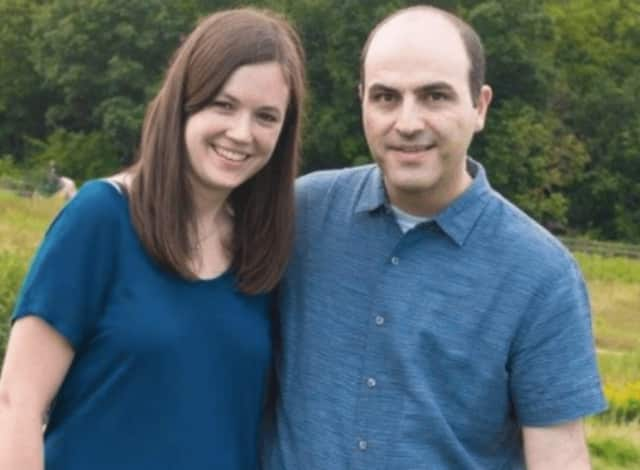 Fair Lawn parents Emily Greenfield and her husband, Boaz Cohen.