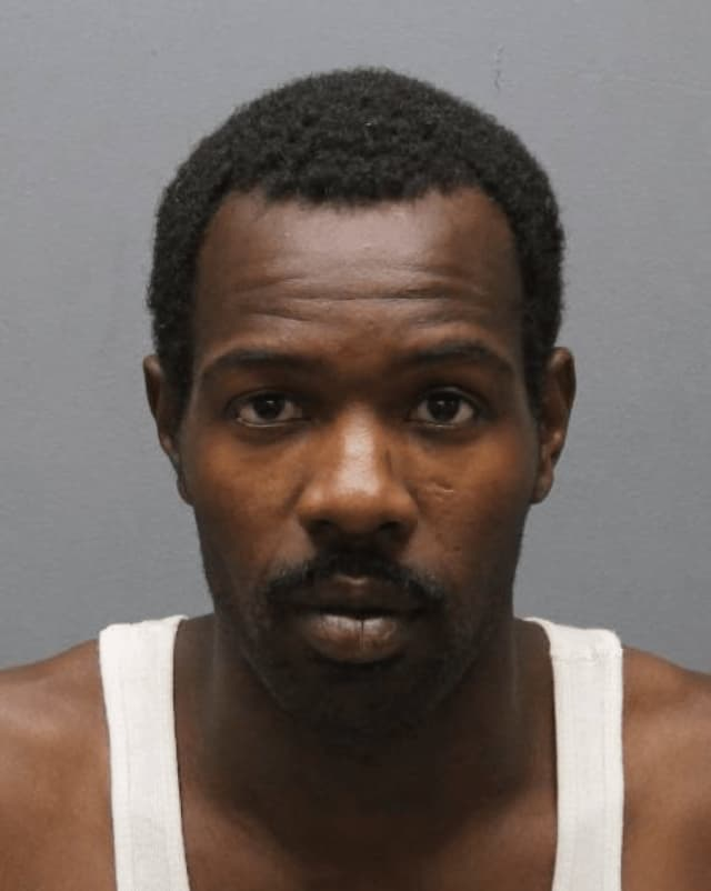 A homeless man from the Bronx is wanted in Yonkers on weapons charges.