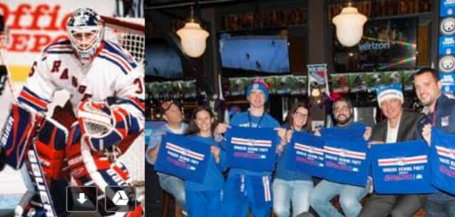 New York Rangers legend Mike Richter is hosting a viewing party at Empire City Casino on Sunday, March 12.