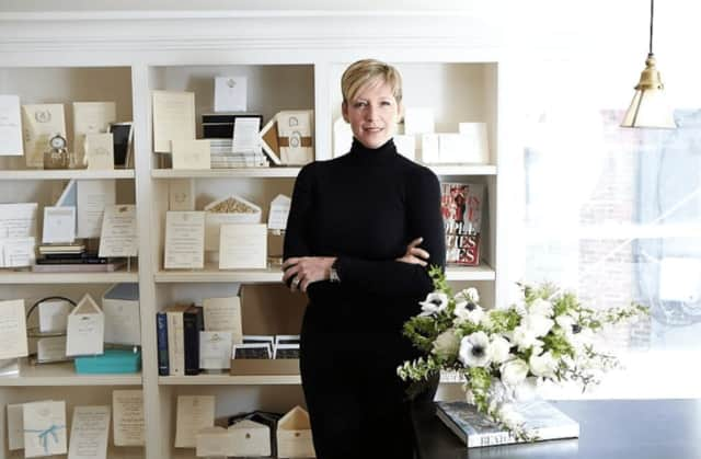 Shari Lebowitz, owner of Bespoke Designs, is keeping the elegant art of fine stationery alive.