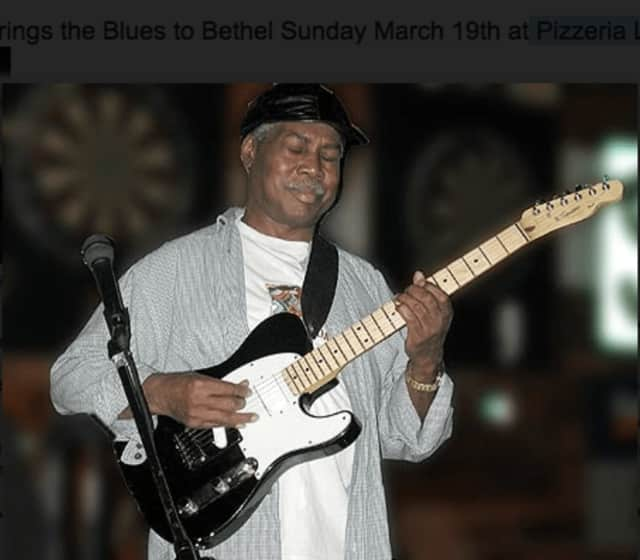Blues man George Baker will perform Sunday, March 19 at Pizzeria Lauretano in Bethel.
