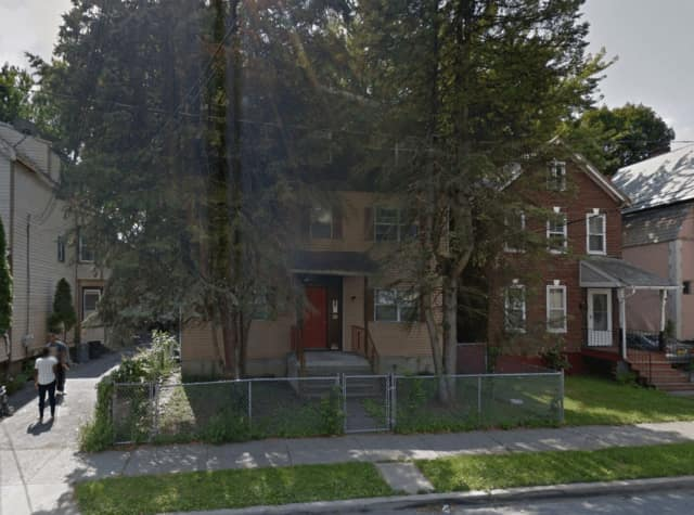 City of Poughkeepsie firefighters are working a fire at 330 Mansion St.