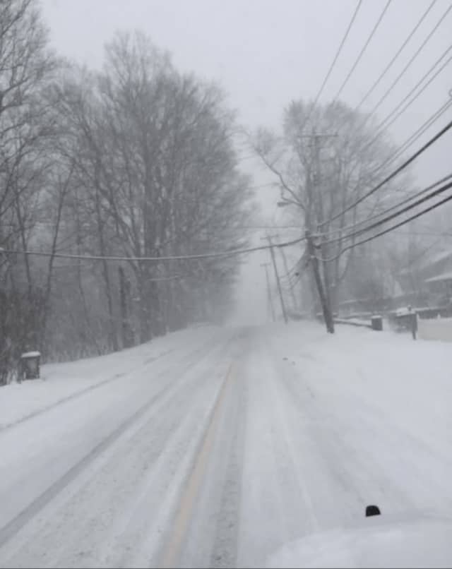 Dangerous conditions continue in Rockland County with slippery, snowy roads.