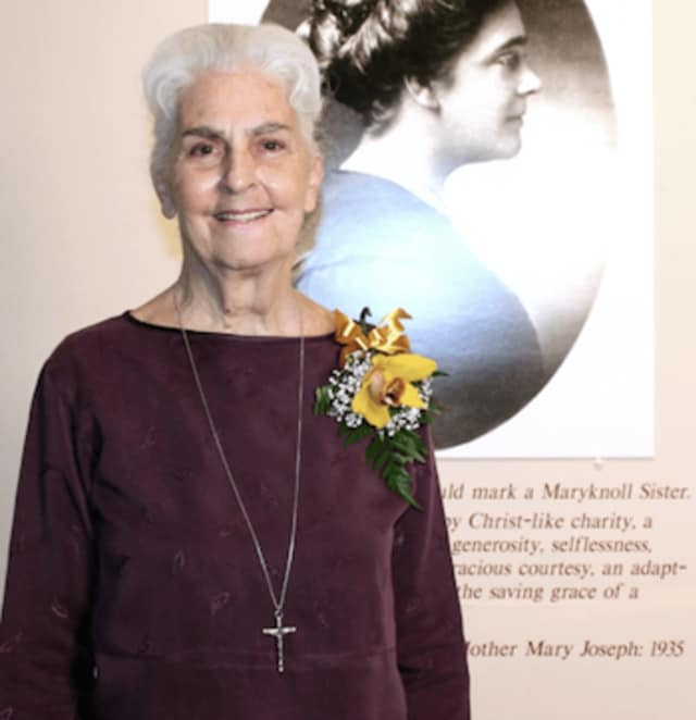 Stamford-born Sister Catherine Rowe, a Maryknoll Sister for 53 years died on March 14, 2017.