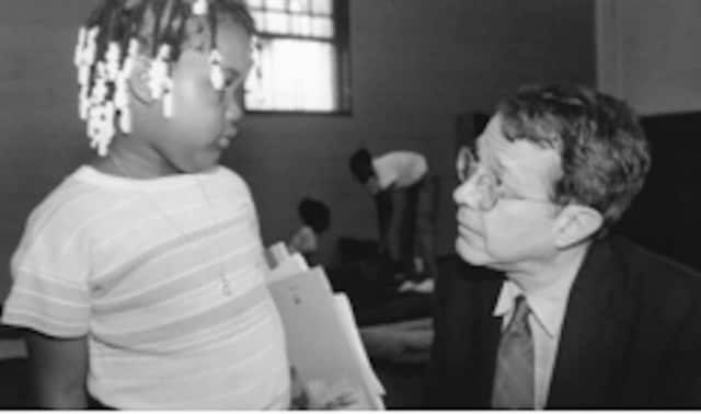 """Hear from """"Fire in the Ashes: Twenty-Five Years Among the Poorest Children in America"""" author Jonathan Kozol in a conversation Friday, March 13 at Round Hill Community Church in Greenwich."""