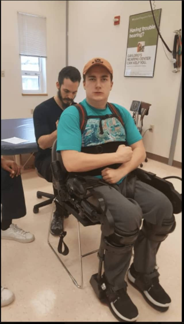 After months of planning, Zach Standen of Easton -- a 17-year-old who became paralyzed from the waist down after a car accident last summer -- will be going to the Stem Cell Institute in Panama on April 17.