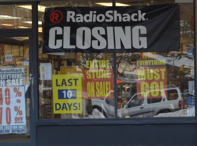 The Danbury location of Radio Shack, at 1 Padanaram Road, is one of the two Radio Shack stores in Fairfield County and 552 across the nation that will close, according to a recent report from the company.