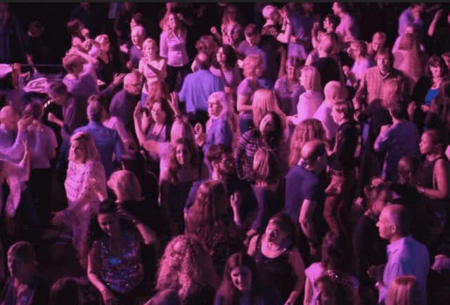 """Prepare to Hustle the night away at the  """"Disco Inferno"""" dance party, a """"fun-raiser"""" for the Fairfield Theatre Company April 21 at the FTC Warehouse in Fairfield."""