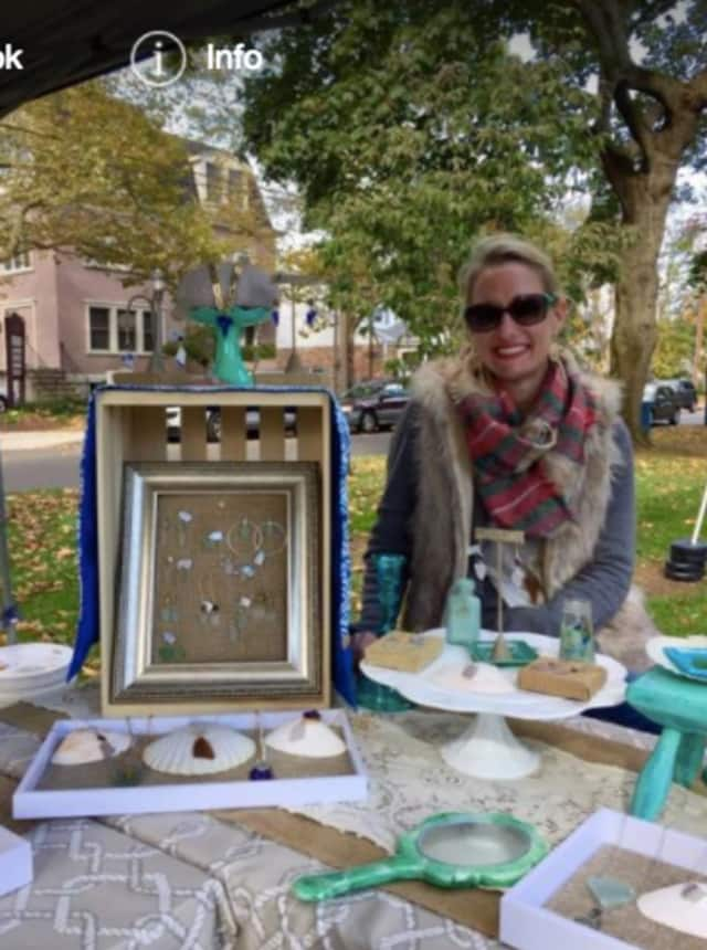 Jenn Skiba is hoping to win a contest for a FedEx small business grant to fund her jewelry-making business.