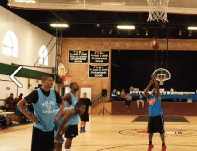 Over 100 basketball players will compete in Hoops for Habitat Saturday, April 1 at the McGivney Center help pay for an affordable home for a Bridgeport family.