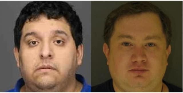 Registered sex offenders Isaac Esau Jara and David Ohnmacht.
