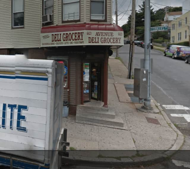 A man was stabbed in a local deli in Yonkers on Thursday.