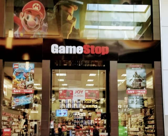GameStop, located at Paramus' Bergen Town Center, could be among the 150 stores to close.