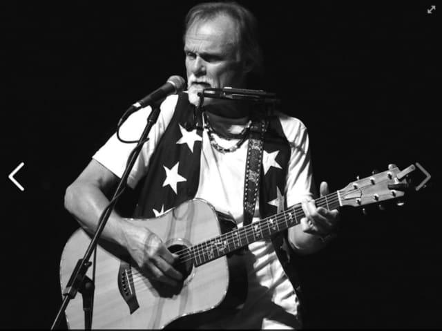 Singer-songwriter Jonathan Edwards