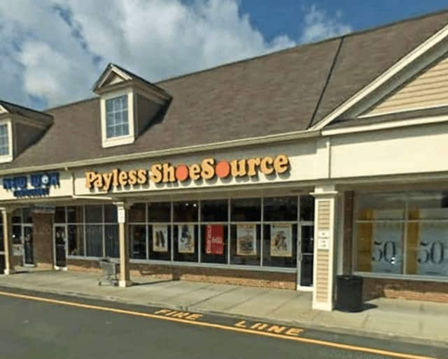 Payless Shoe Source in the Sand Hill Plaza on Route 25 in Newtown is one of hundreds that will close around the country.
