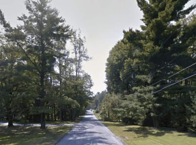A Yorktown man was arrested and charged with stealing a wallet on Evergreen Street (shown here).