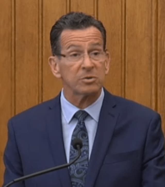 Gov. Dannel Malloy announces Thursday that he will not seek re-election.